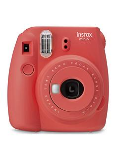 fujifilm-instax-instax-mini-9-instant-camera-with-10-or-30-pack-of-paper--nbsppoppy-red