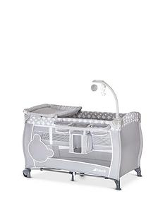 hauck-babycenter-travel-cot--teddy-grey