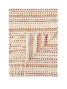 Very Stitch Stripe Throw
