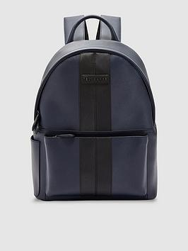 ted-baker-twill-backpack-navy
