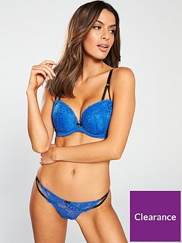 ann-summers-sexy-lace-2-string-thong-cobalt