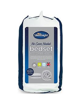 Silentnight Silentnight No Cover Needed Washable 13.5 Tog Duvet And Pillow  ... Picture