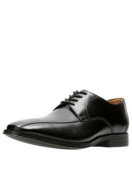 Clarks Clarks Clarks Gilman Mode Leather Lace Up Shoe Picture