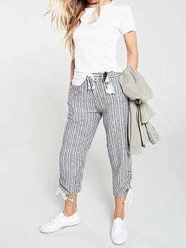 v-by-very-linen-mix-crop-trouser-stripe