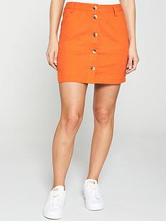 v-by-very-linen-button-through-skirt
