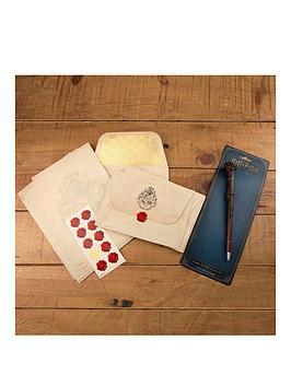 harry-potter-hogwarts-letter-writing-set-amp-wand-pen