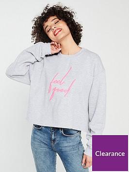 river-island-river-island-feel-good-fluro-sweatshirt-grey