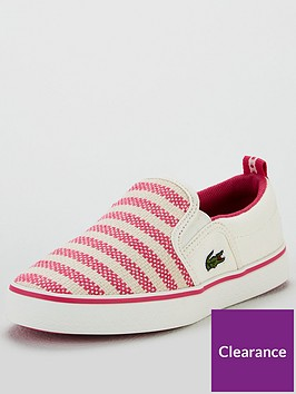 lacoste-girls-gazon-119-slip-on-plimsoll