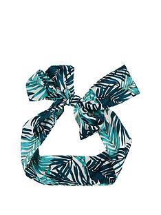 michelle-keegan-leaf-print-headscarf-headband-multi