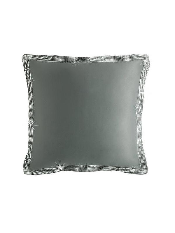 By Caprice Silver Sham Pillowcases