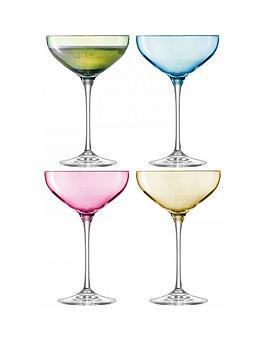 lsa-international-polkanbsphand-crafted-champagne-saucers-ndash-set-of-4