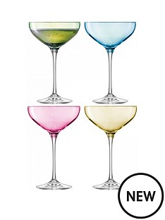 lsa-polka-champagne-saucers-ndash-set-of-4