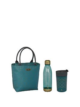 Beau & Elliot   Lunch Tote , 700Ml Drink Bottle And Travel Mug