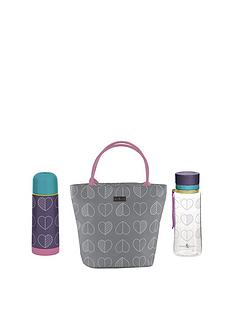 beau-elliot-confetti-outline-slate-lunch-tote-flask-and-hydration-bottle
