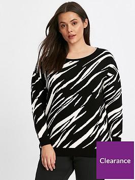 evans-zebra-stripe-jumper