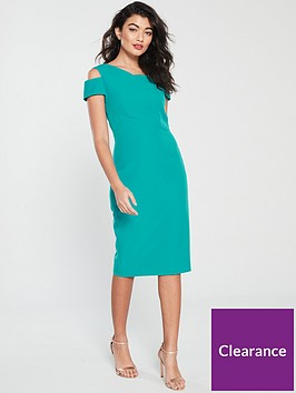 ted-baker-yandal-cut-out-shoulder-bodycon-dress-turquoise