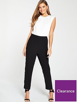 ted-baker-roziee-pearl-neck-detail-jumpsuit-black