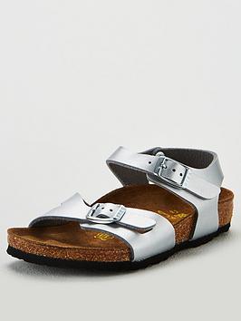 birkenstock-girls-silver-rio-sandal
