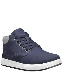 Timberland Timberland Davis Square Leather Chukka Boots - Navy Picture