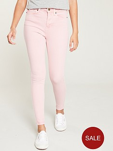 v-by-very-ella-high-waist-skinny-jeans-pink