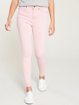 v-by-very-ella-high-waist-skinny-jeans-pink
