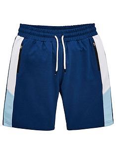 v-by-very-boys-colour-block-shorts-navy-blue