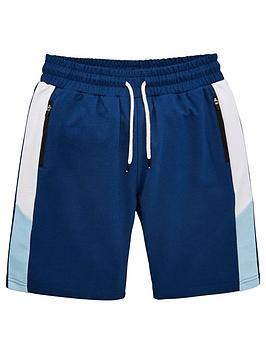 v-by-very-boys-colour-block-shorts-navy-blue