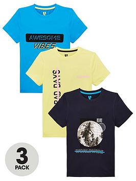 v-by-very-boys-3-pack-no-bad-days-good-vibes-t-shirts-multi