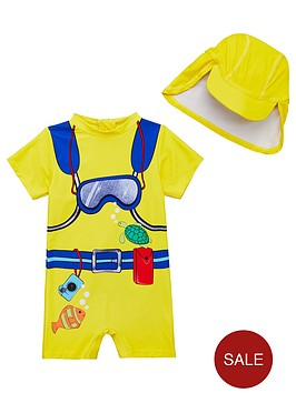mini-v-by-very-toddler-boys-2-piece-scuba-diver-sunsafe-swimwear-and-matching-hat-set
