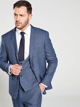 skopes-ortonanbspsemi-plain-suit-jacket-blue