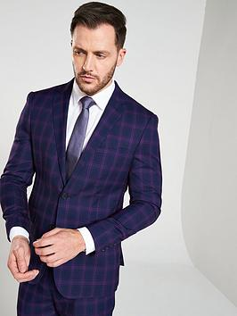 skopes-skopes-arlo-blue-purple-check-jacket-tailored-fit