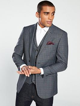skopes-warleynbspcheck-suit-jacket-greyblue