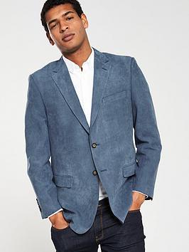 skopes-portonbspsoft-touch-herringbone-suit-jacket-blue