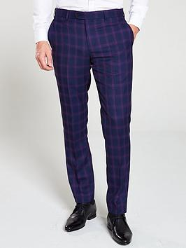 skopes-skopes-arlo-blue-purple-check-trouser-tailored-fit