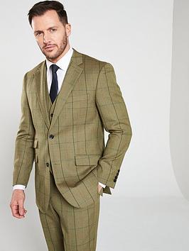 skopes-goodwood-lovatnbspcheck-suit-jacket-olive