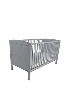 East Coast East Coast Hudson Cot Bed - Grey Picture