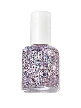 Essie Essie Essie 511 Congrats Silver Pink Glitter Nail Polish Picture