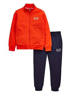 ea7-emporio-armani-boys-zip-through-sweat-amp-jogger-tracksuit-redblack