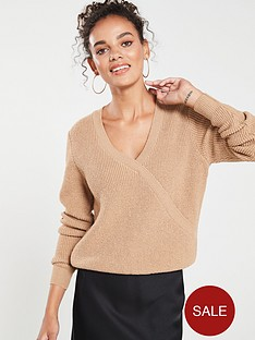 v-by-very-mock-wrap-over-jumper-camel