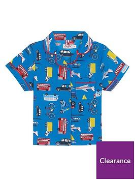 cath-kidston-boys-wheels-and-wings-woven-pyjamas-blue