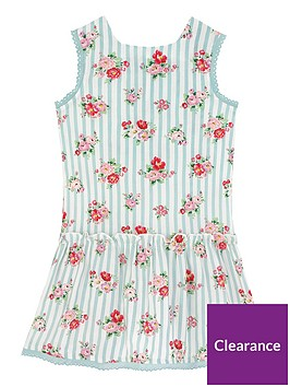 cath-kidston-girls-floral-drop-waist-dress-off-white