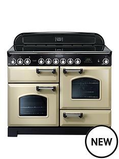 rangemaster-cdl110eccrnbspclassic-deluxenbsp110cmnbspwide-electric-range-cooker-cream