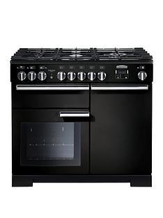 rangemaster-pdl100dffgb-professional-deluxe-100cmnbspwide-dual-fuel-range-cooker-black