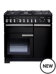rangemaster-pdl90dffgb-professional-deluxe-90cmnbspwide-dual-fuel-range-cooker-black