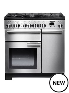 rangemaster-pdl90dffss-professional-deluxe-90cmnbspwide-dual-fuel-range-cooker-stainless-steel