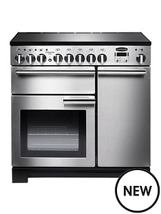 rangemaster-pdl90eiss-professional-deluxe-90cmnbspwide-electric-range-cooker-with-induction-hob-stainless-steel