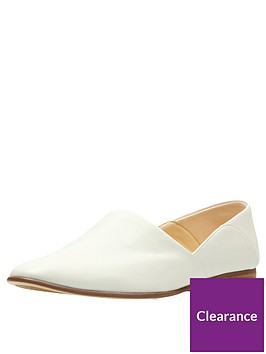 clarks-pure-tone-flat-shoes-white