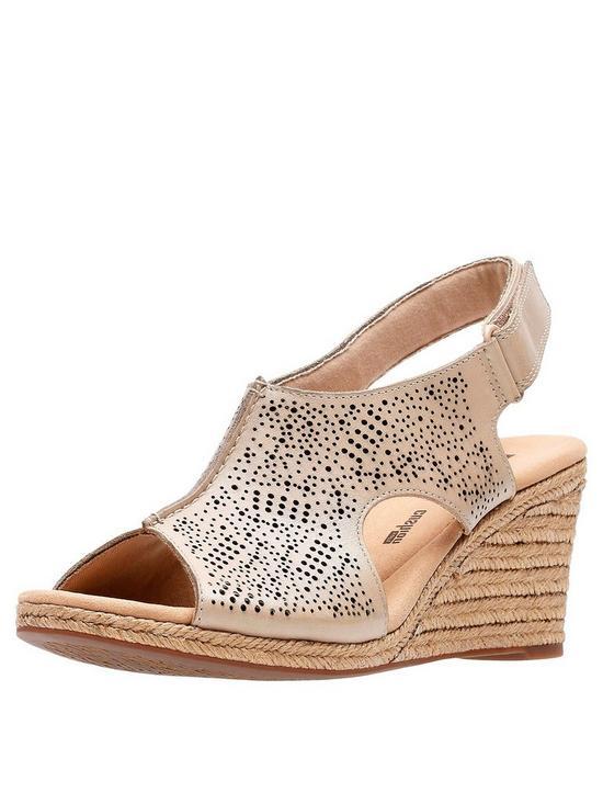 a1833fc3a8b Lafley Rosen Wedge Sandals - Sand