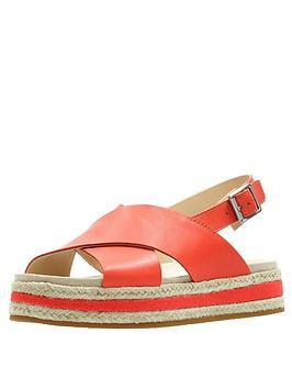 clarks-botanic-fay-flat-sandals-orange