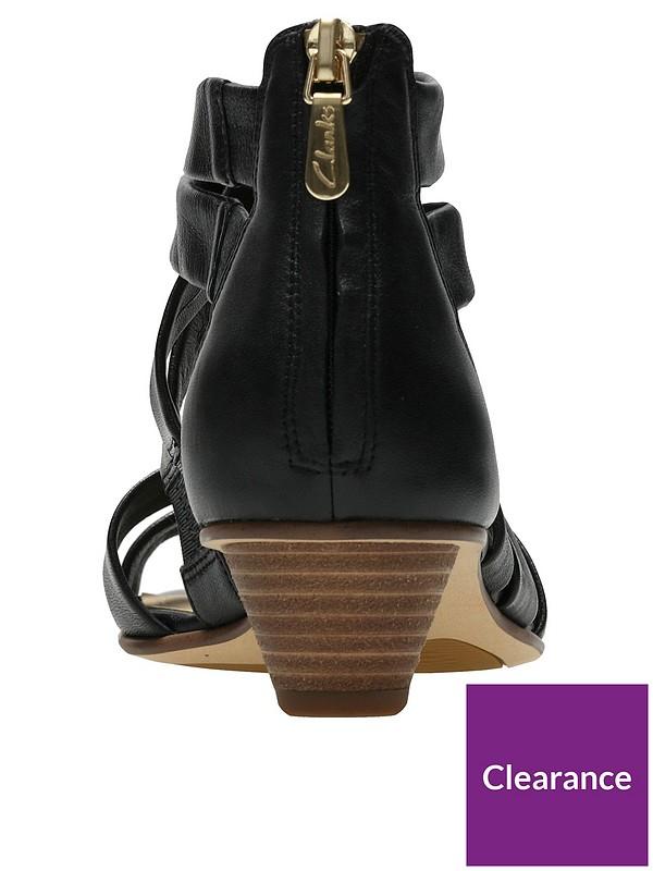 great fit hot-seeling original get online Mena Silk Sandals - Black